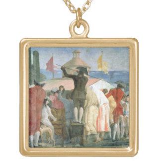Den nya världen, 1791-97 (olja på kanfas) (se ocks guldpläterat halsband