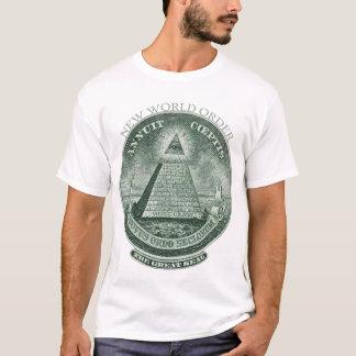 Den nya världen beställer Annuit Coeptis Tee Shirts