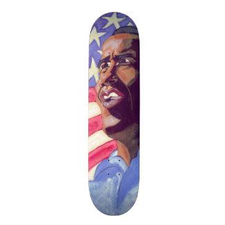 Den Obama skridskon stiger ombord Old School Skateboard Bräda 21,6 Cm