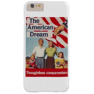Den obetänksamma consumerismen för amerikanska barely there iPhone 6 plus fodral