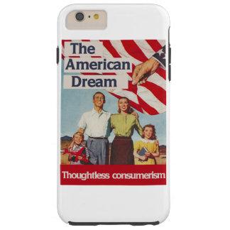 Den obetänksamma consumerismen för amerikanska tough iPhone 6 plus fodral