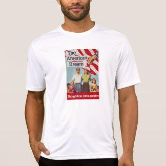 Den obetänksamma consumerismen för amerikanska tshirts
