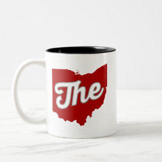 Den Ohio kaffemuggen Två-Tonad Mugg