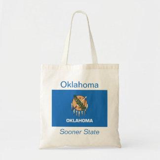 Den Oklahoman flagga hänger lös Budget Tygkasse