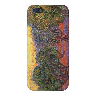Den olivgröna dungen, Vincent Van Gogh iPhone 5 Skydd