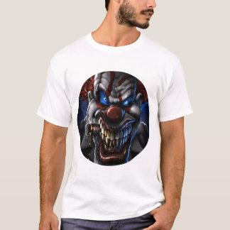 Den onda clownen och cigarren cirklar closeupen t shirts