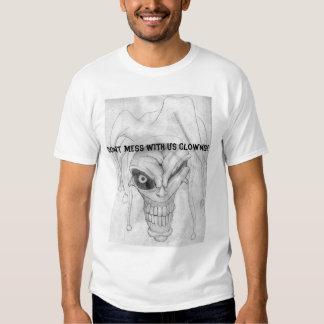 Den onda jokeren tee shirts