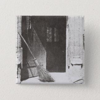 Den öppna dörren, mars, 1843 (b-/wfotoet) standard kanpp fyrkantig 5.1 cm