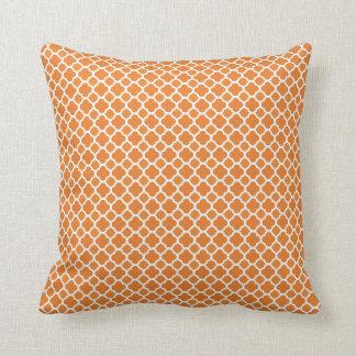 Den orange designen kudder kudde
