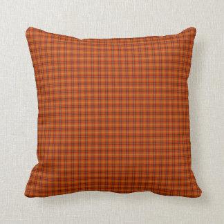 Den orange tartanen kudder kudde