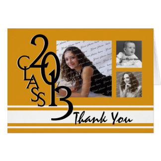 Den orangestudenten 2013 tackar dig OBS kort