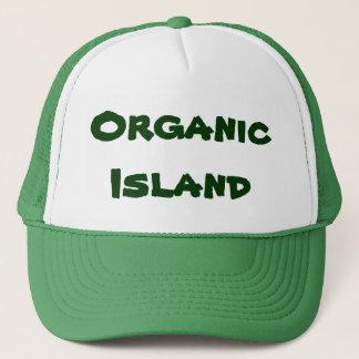 Den organiska ötruckerkepsen främjar organiskt keps