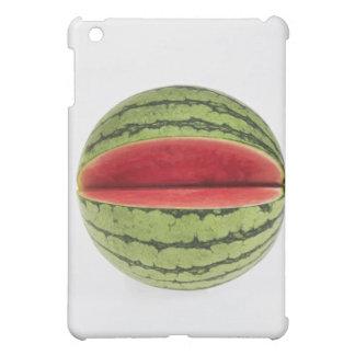 Den organiska vattenmelonen med en skiva klippte iPad mini mobil skal