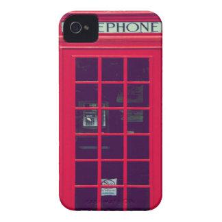 Den original- brittiska telefonen boxas iPhone 4 fodral