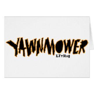 Den ORIGINAL- YaWNMoWeRen ®1993 Hälsningskort