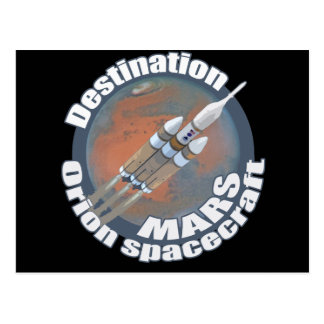 Den Orion destinationen fördärvar Vykort