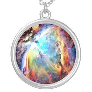 Den Orion nebulaen Silverpläterat Halsband