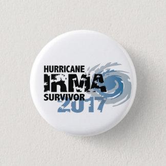 Den orkanIrma överlevanden Florida 2017 knäppas Mini Knapp Rund 3.2 Cm