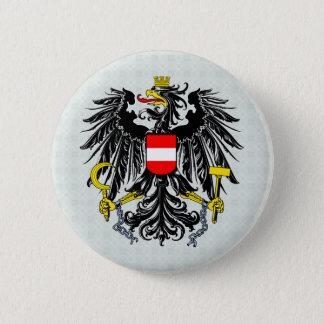 Den Österrike vapenskölden specificerar Standard Knapp Rund 5.7 Cm