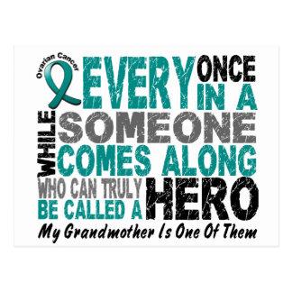 Den Ovarian cancerhjälten kommer den Along Vykort