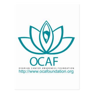 Den Ovarian logotypen för Vykort