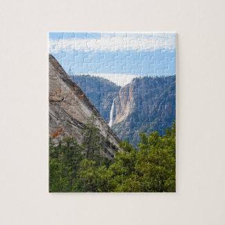 Den övreYosemite Falls och glaciären pekar Pussel