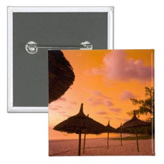 Den Palapa stilstranden förlägga i barack på solup Standard Kanpp Fyrkantig 5.1 Cm