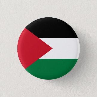 Den Palestina flagga knäppas Mini Knapp Rund 3.2 Cm