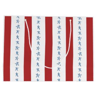 Den patriotiska gåvan hänger lös