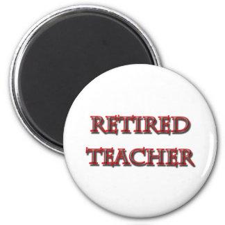 den pensionerade lärare kopierar magnet