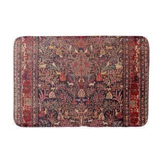 Den persiska vintageantikviteten mattar naturkonst badrumsmatta
