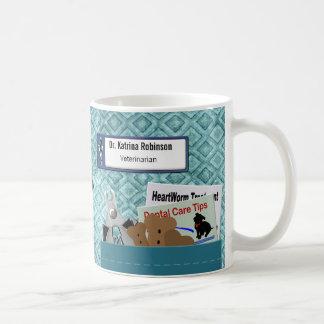 Den personifierade veterinär- professionellen kaffemugg