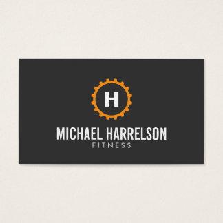 Den personliga instruktören, kondition utrustar visitkort