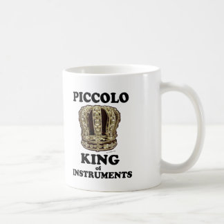 Den Piccolo kungen av instrumenterar Kaffemugg