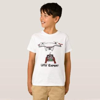 Den pilot- co-pilot- t-skjortan för UAV-surr Tee Shirts