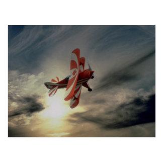 Den Pitz sakkunniga, singel placerar aerobatic Vykort