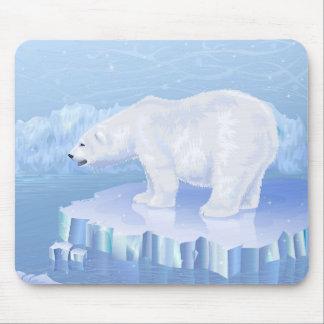 Den polara björnmusen vadderar musmatta