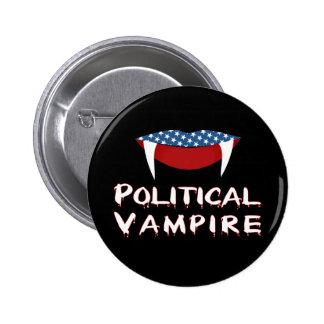 Den politiska vampyren roliga Halloween knäppas Knappar Med Nål