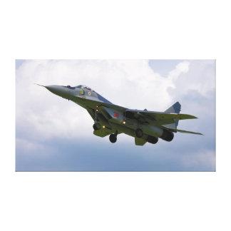 Den polska MiG-29 versionen 9.12A från baserar i Canvastryck