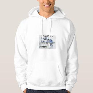 Den portPerry hoodien med skogsarbetare ritar Tröja Med Luva