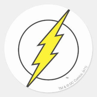 Den pråliga | blixten kasta i sig runt klistermärke