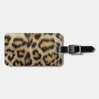 Den prickiga leoparden flår bagagebricka