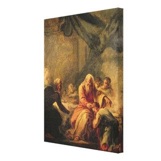 Den Prodigal sonen Canvastryck