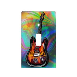 Den Psychedelic Hippiegitarren Lightswitch täcker
