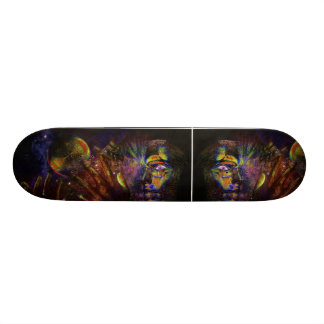 Den Psychedelic skridskon stiger ombord Skateboard Bräda 21,5 Cm