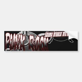 Den Punk affischen för klistermärken för hoodien f Bildekaler