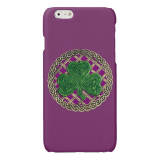 Den purpurfärgade shamrocken på Celtic knyter