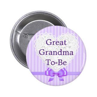 Den purpurfärgade underbara mormodern som är baby standard knapp rund 5.7 cm
