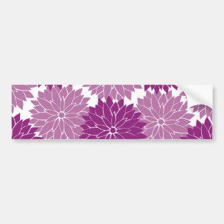 Den purpurfärgade violetta lavendelblomman bildekal