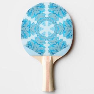 Den realistiska Snowflakepingen Pong paddlar Pingisracket